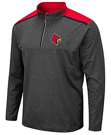 Men's Louisville Cardinals Snowball Quarter-Zip Pullover