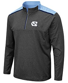 Men's North Carolina Tar Heels Snowball Quarter-Zip Pullover