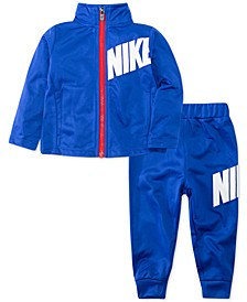 Baby Boys 2-Pc. Full-Zip Jacket & Jogger Pants Track Set