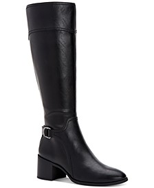 Vannie Riding Boots, Created for Macy's