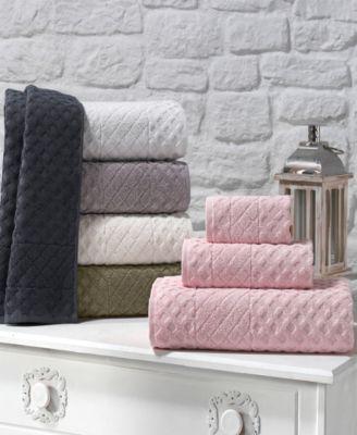 Glossy Turkish Cotton 8-Pc. Washcloth Set