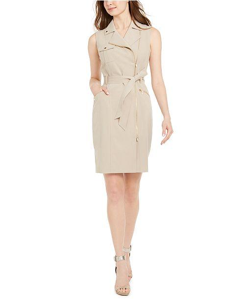 Calvin Klein Moto Dress