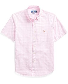 Men's Classic Fit Gingham Oxford Shirt