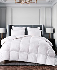Ultra-Soft Nano-Touch All Season White Down Fiber Comforter, Full/Queen