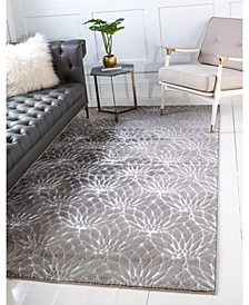Glam Mmg003 Gray 4' x 6' Area Rug