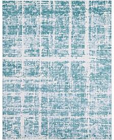 Lexington Avenue Uptown Jzu003 Turquoise 8' x 10' Area Rug