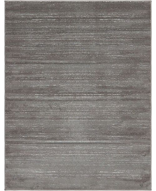 Jill Zarin Madison Avenue Uptown Jzu001 Gray 8' x 10' Area Rug