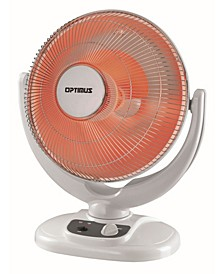 "H-4439 14"" Oscillation Dish Heater Home, Garden and Living"