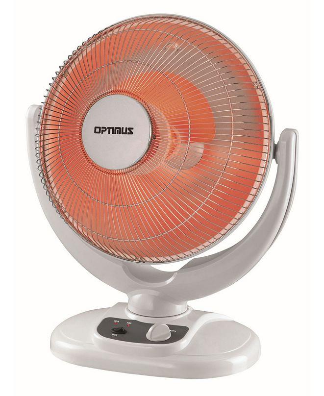 "Optimus H-4439 14"" Oscillation Dish Heater Home, Garden and Living"