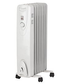 H-6011 Portable Oil Filled Radiator Heater By Optimus