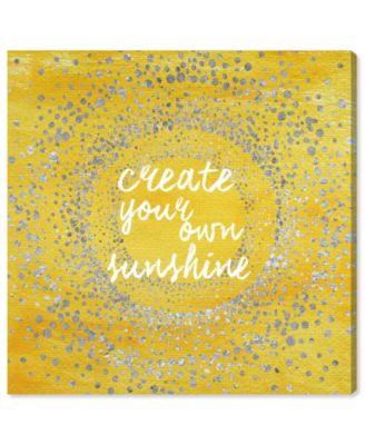 Your Own Sunshine Canvas Art, 16