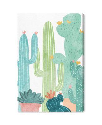 Cactus All Around Canvas Art, 16