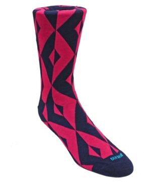 Men's Geometric Design Dress Sock