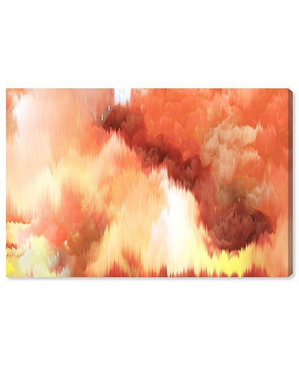 "Oliver Gal Vivanti Tangerine Canvas Art, 24"" x 16"""