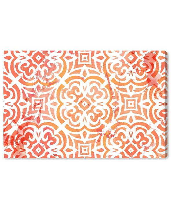 """Oliver Gal Peachy Afternoon Canvas Art, 24"""" x 16"""""""