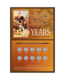 10-Years of Buffalo Nickels