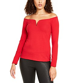Sweetheart Off-Shoulder Top, Created For Macy's