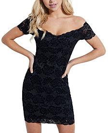 GUESS Drea Off-The-Shoulder Dress