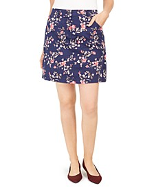Sharon Floral-Print Skort, Created for Macy's
