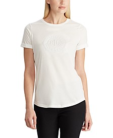 Petite Logo Cotton T-Shirt