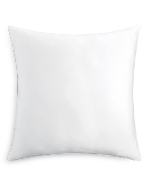 "Charter Club Down Alternative 300-Thread Count 26"" x 26"" Euro ..."