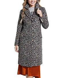 Sisa Cheetah-Print Coat