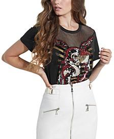 Embellished Dragon EZ T-Shirt