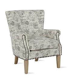 Matthews Nail Head Accent Chair