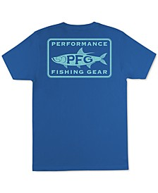 Men's Steady Performance Fishing Gear Graphic T-Shirt