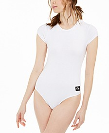 Crew-Neck Cheeky Bodysuit