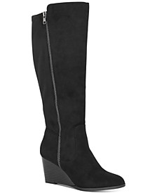 Wynterr Wedge Dress Boots, Created for Macy's