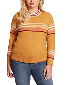 Plus Size Rai Stripe Sweater
