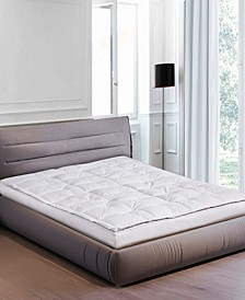 233 Thread Count Cotton 5 Inch Gusseted Full Featherbed