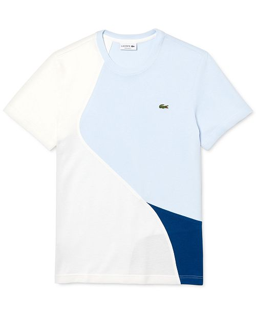 Lacoste Tri-Color Tee Shirt