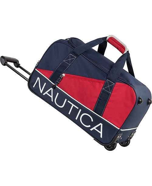 "Nautica Newton Creek 22"" Wheeled Duffle"