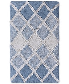 Ombre Diamond 21x34 Bath Rug