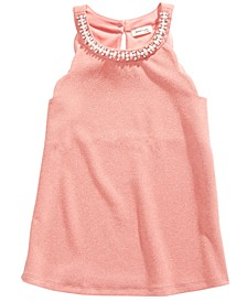 Big Girls Embellished Halter Top