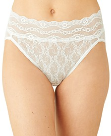 Women's Lace Kiss High-Leg Brief Underwear 978382
