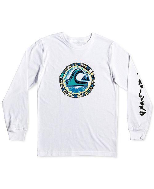 Quiksilver Toddler & Little Boys Cotton Long-Sleeve T-Shirt