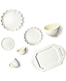 by Laura Johnson Ecru Dinnerware Collection