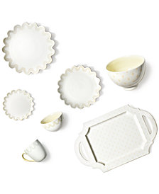 Coton Colors by Laura Johnson Ecru Dinnerware Collection