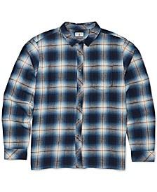 Toddler & Little Boys Coastline Flannel Plaid Cotton Shirt