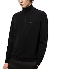 Boss Men's San Giuseppe Half-Zip Sweater