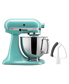 KitchenAid Artisan Series 5-Quart Tilt-Head Stand Mixer with Flex Edge Beater Bundle Set KSM150FE