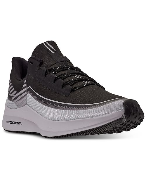 Nike Men's Air Zoom Winflo 6 Shield Running Sneakers from ...