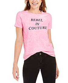 Rebel Cotton Graphic-Print T-Shirt