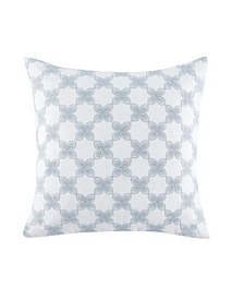Cellini Floral Geo 18 Square Decorative Pillow