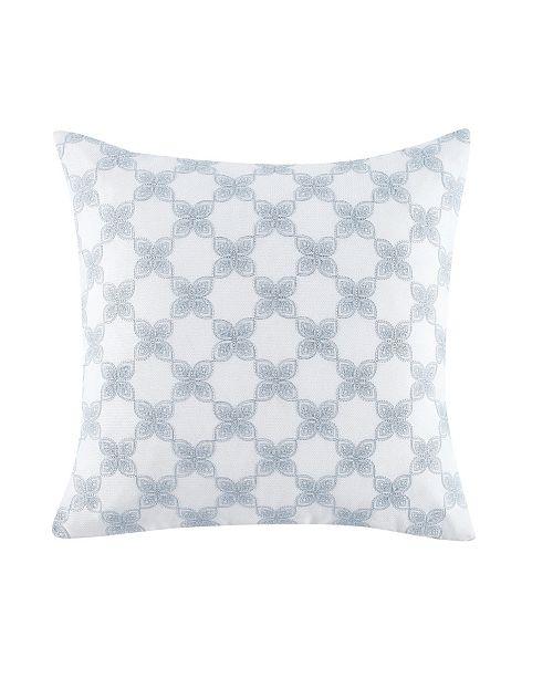 Charisma Cellini Floral Geo 18 Square Decorative Pillow