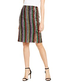 INC Rainbow Sequin Skirt, Created For Macy's