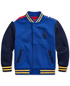 Little Boys Downhill Skier Baseball Jacket
